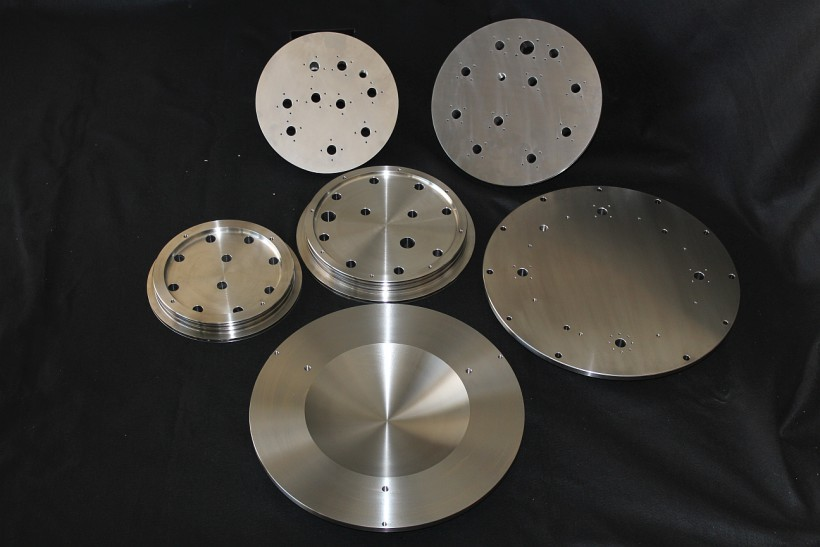 Titanium Endcaps